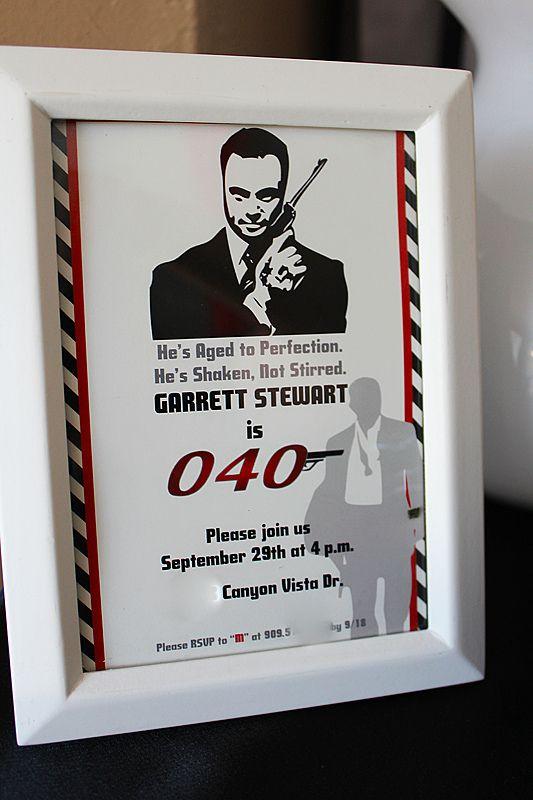 James Bond 40th Birthday