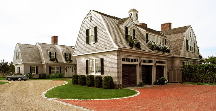 114 best images about gambrel roof and dutch colonial for Dutch colonial garage plans