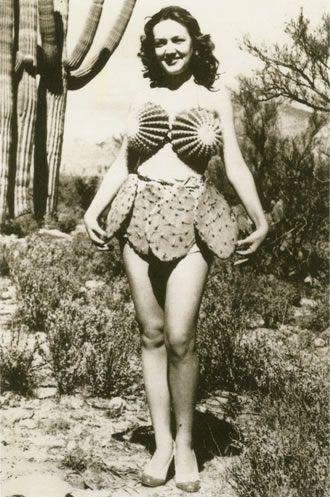Cactus bikini!!! 1930s.