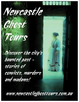 Newcastle Ghost Tours - Eidolon Paranormal & S.A. Paranormal.   Who would have thought Newcastle had so much going on!