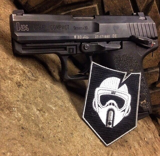 HK USP Compact w/ITS Tactical Patch