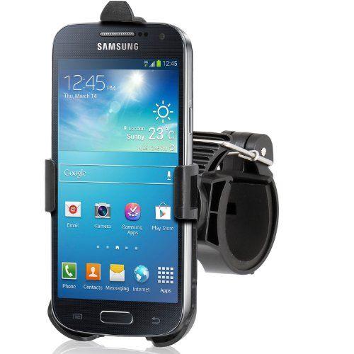 Wicked Chili Bicicletta Bike Mount Holder per Samsung Galaxy S4 mini i9190 / i9195 supporto ( sgancio rapido , rotazione di 360 gradi )