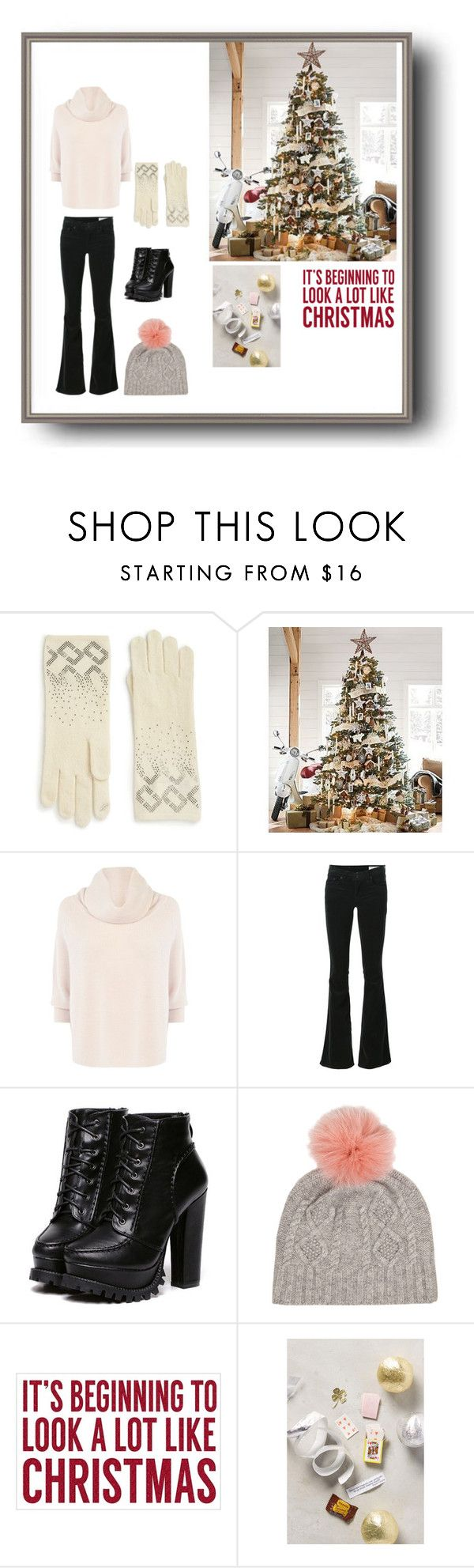 """""""WINTER MUST HAVES"""" by xdarkgothamx ❤ liked on Polyvore featuring Diane Von Furstenberg, Pottery Barn, Karen Millen, rag & bone, Sixtrees, Winter, Boots, snow, cold and winter2015"""
