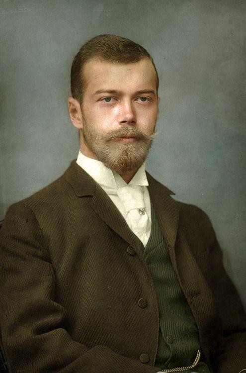 """royaland: """" lovecolorization: """" Czar Nicolau II """" Emperor Nicholas II of Russia """""""
