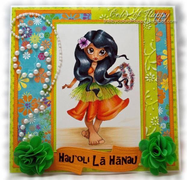 Hawaiian Happy Birthday