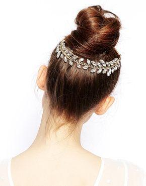 peignes cheveux forme feuilles de vigne avec cristaux accessoirs cheveux pinterest. Black Bedroom Furniture Sets. Home Design Ideas