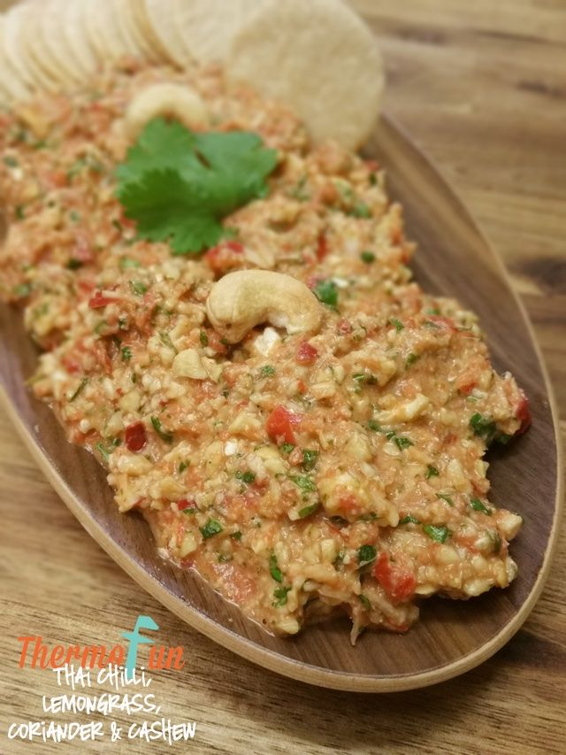 ThermoFun - Thai Chilli, Lemongrass, Coriander and Cashew Dip Recipe | ThermoFun | Thermomix Recipes & Tips