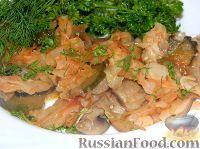 Фото к рецепту: Солянка из капусты с грибами