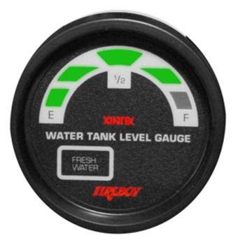 Xintex Water Tank Display Round 2 Gauge f/2 Fresh Water Tanks