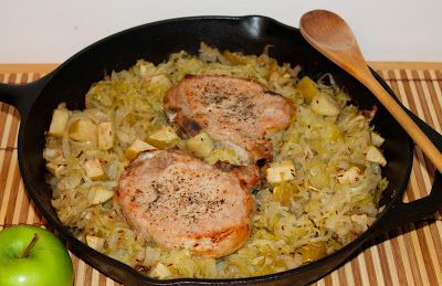 Savory Moments: Pork chop and sauerkraut casserole ELAINE CLICK THE RIGHT OF THE MOUSE FOR IT TO OPEN THE RECIPE!!