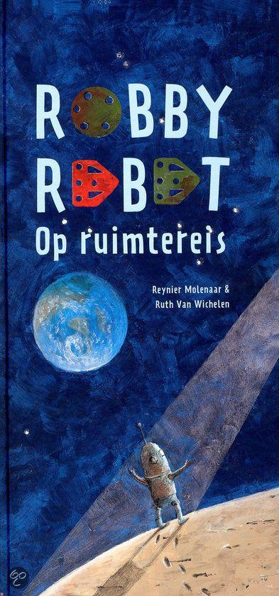 Robby is een ondeugend robotje. Hij gaat er zomaar vandoor in zijn raketje. Mama Robot is natuurlijk ongerust. Waar is hij gebleven?  - 'Theaters Tilburg en de Bibliotheek Tilburg Centrum werken samen rondom het Ruimtevaartcollege van André Kuipers'.