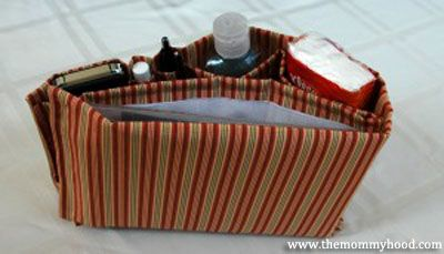 How to Make Your Own Purse Organizer