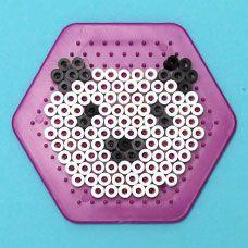craftprojectideas.com - Melty Bead Zoo Animals