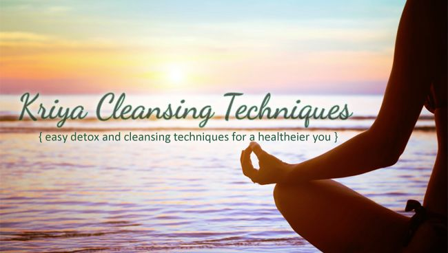 After attending a Yoga Detox retreat, I share My Kriya Cleansing Techniques, which I continue to do on a daily basis to keep myself healthy, refreshed and rejuvenated. #healthbenefits #detox #healthyliving #lemonwater #netipot #oilpulling #tonguescraping #dryskinbrushing