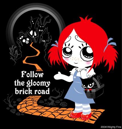 Ruby Gloom Gothic Humor