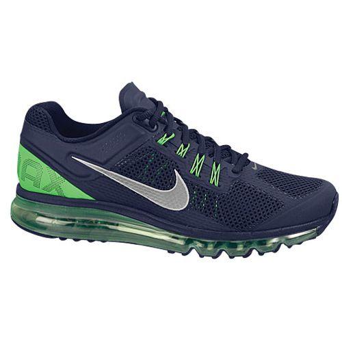 Nike Air Max + 2013 - Men's - Running - Shoes - Seahawks Colors!
