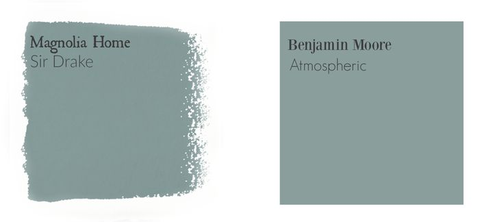 Sir Drake Color Match Color match for Magnolia Paints by Joanna Gaines