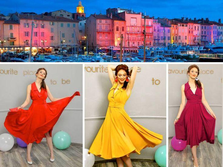 Unforgettable evening, unforgettable as you are! #SainTropez #Color #ColorsOfLove