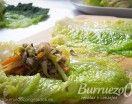 Col rellena de carne picada de vacuno con verduras, un plato ligero, saludable y rico. Una forma diferente de preparar las verduras con carne picada.