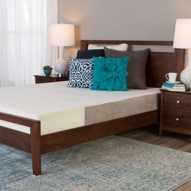 slumber solutions choose your comfort 8inch queen memory foam mattress firm - Slumber Solutions
