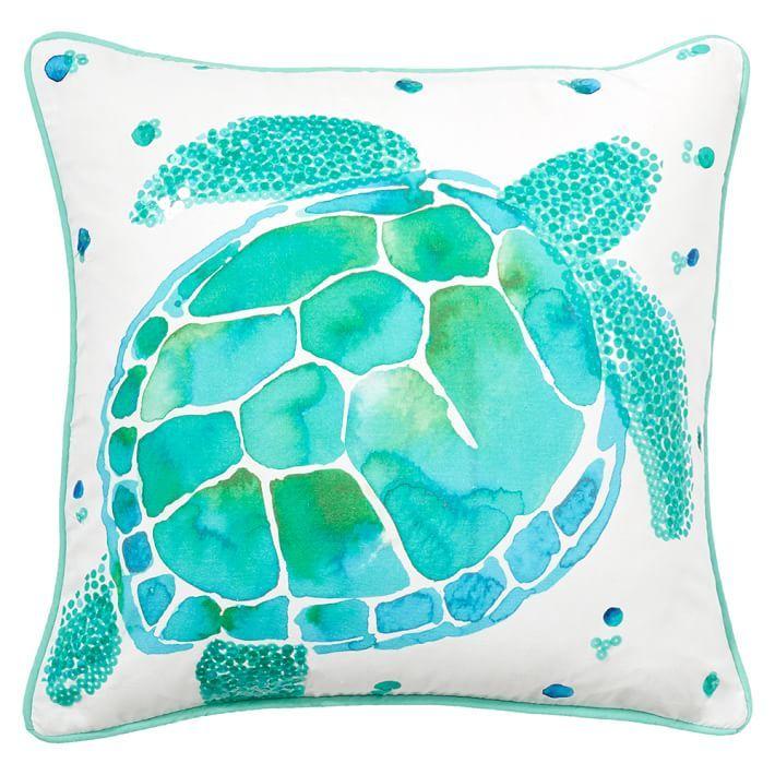 Sea Creature Pillow Cover