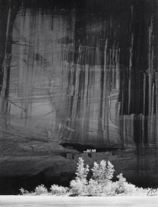 White House Ruin, Morning, Canyon de Chelly by Ansel Adams