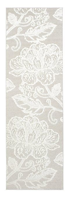 Vallila Interior CM000372-75 Cinnamon Teppichläufer Geblümt, 68 x 220 cm, beige