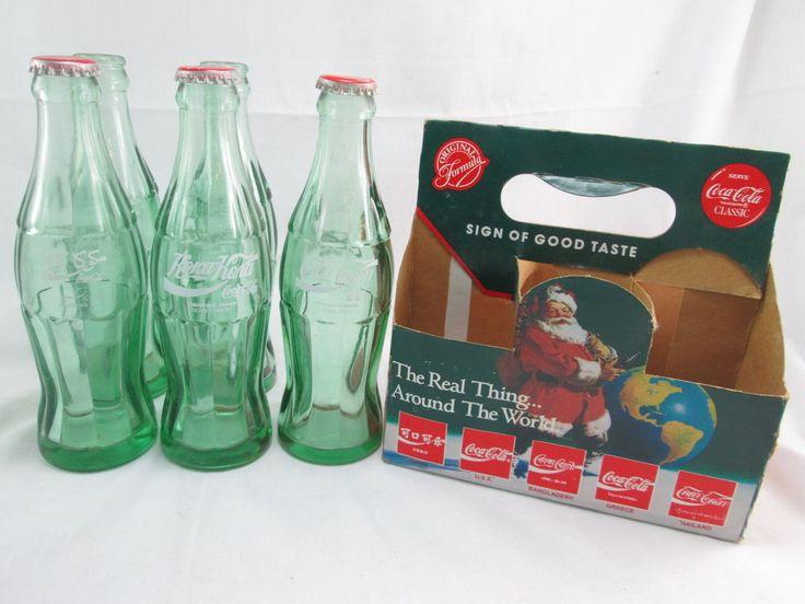 1990 Coca-Cola Bottles Coke Around the World Pakistan Soviet Union Thailand #CocaCola