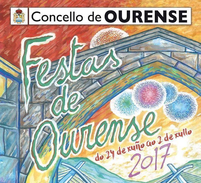 Programa de las Fiestas Ourense 2017. Fiestas del Corpus 2017. Ocio en Galicia | Ocio en Ourense. Agenda de actividades: cine, conciertos, espectaculos