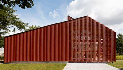 Oficina pasiva Proyecto Roble diseñada por Équipe (Tilburgo, Holanda)