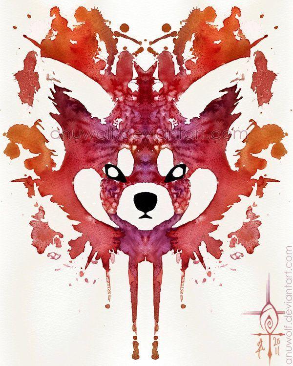 Watercolor-Red-Panda-Tattoo-Design.jpg 600×749 pixels