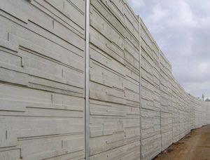 Silver Wolf Projects - Noise Barriers - Noise Walls - Acoustic Barriers - CSR Hebel Panel - Plexiglass Perspex - Concrete Panels