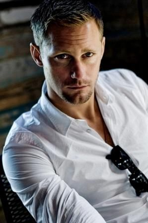 Alexander Skarsgard: hot? Yes! But can he act? I honestly have only seen him in True Blood where he does a fabulous job playing the dangerously attractive vampire Eric. I'll be on the lookout for his future acting/film projects.