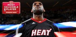 NBA MVP: LeBron James Wins 2012 KIA NBA MVP and Third in Four Seasons, reports say