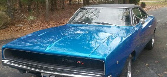 1968 Dodge Charger belonging to Jason Hawes of TAPS Ghost Hunters fame! Gorgeous blue!
