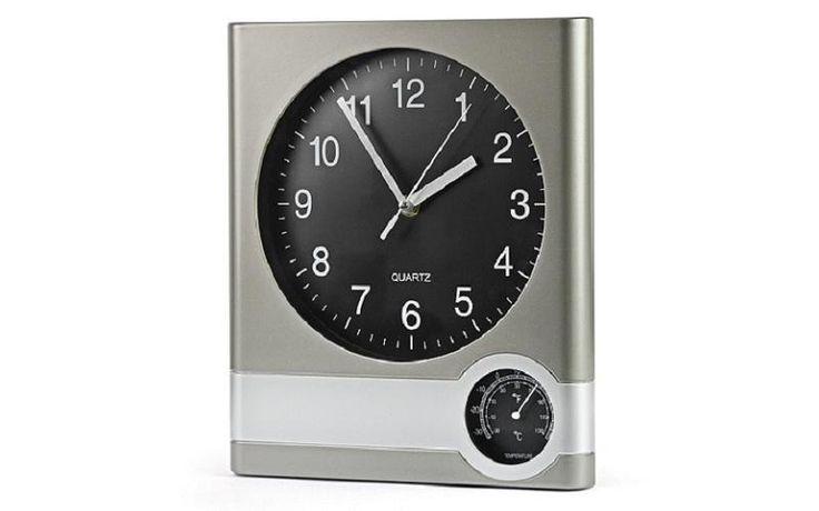 Zegar z termometrem