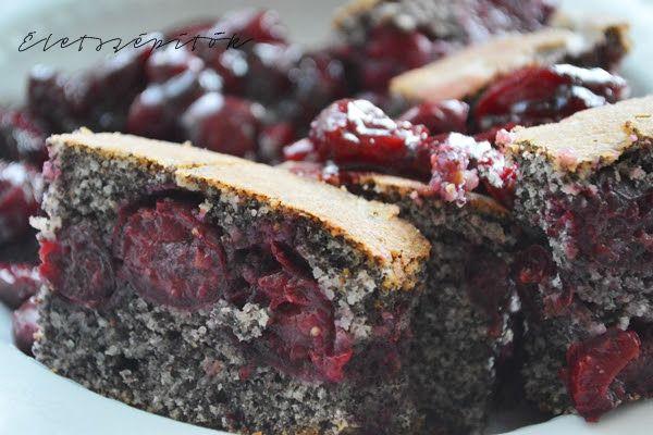 Meggyes-mákos kevert süti | Életszépítők