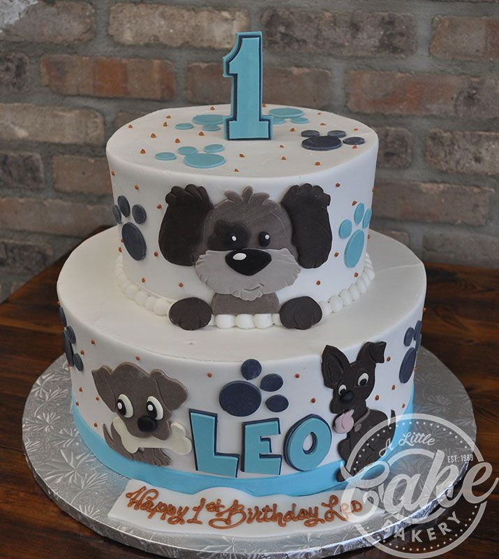 Phenomenal Kids Cakes With Images Puppy Birthday Cakes Dog Birthday Cake Funny Birthday Cards Online Bapapcheapnameinfo