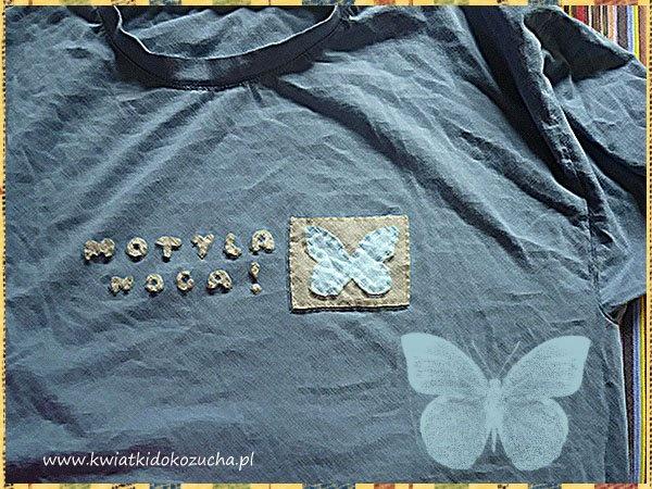 Modraszek t-shirt by 'Kwiatki do kożucha' (http://www.facebook.com/kwiatkidokozucha)