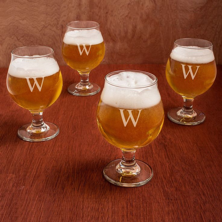 Personalized Belgian Beer es