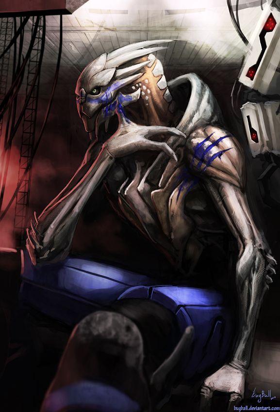 Mass Effect 3 Characters | Shepard+garrus