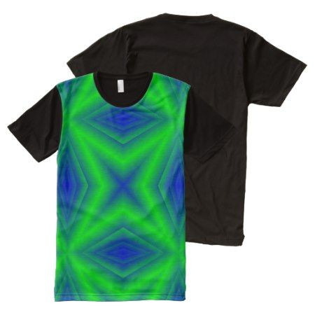 Two colored line pattern All-Over-Print T-Shirt - click to get yours right now!