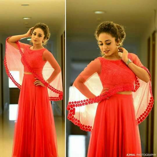 Pearley Maaney | cape dress
