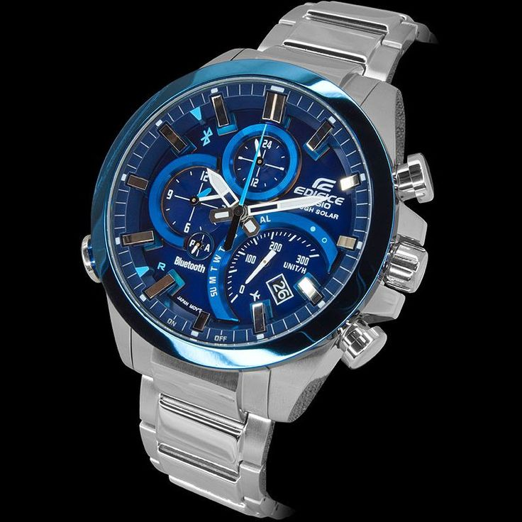 Casio Edifice EQB 500D 2AER Bluetooth Wrist Watch