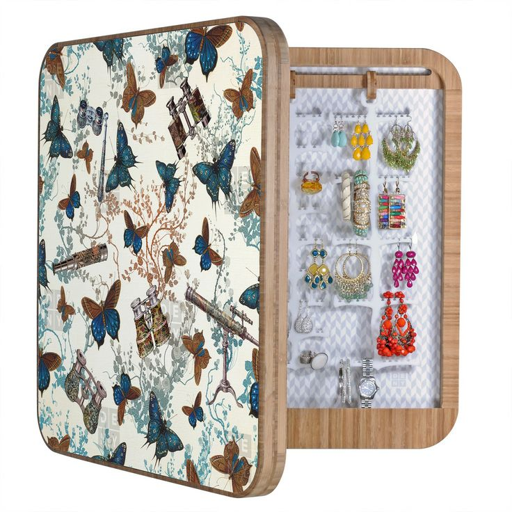 Belle13 Looking For Butterflies BlingBox   DENY Designs Home Accessories