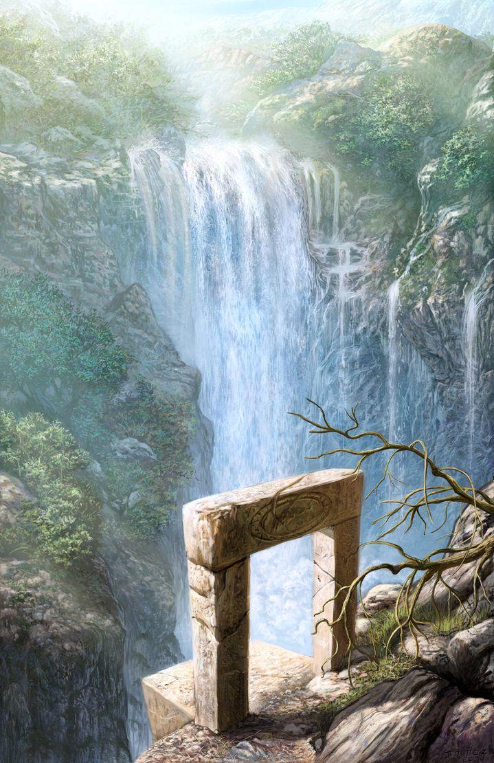 waterfall by metalratrox on deviantART