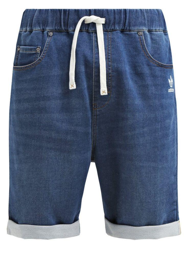adidas Originals Spodnie treningowe medium blue denim