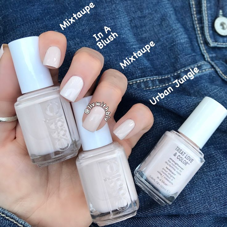 Comparison Swatches To Mixtaupe From The Essie Fall 2017 Collection In 2019 Essie Nail