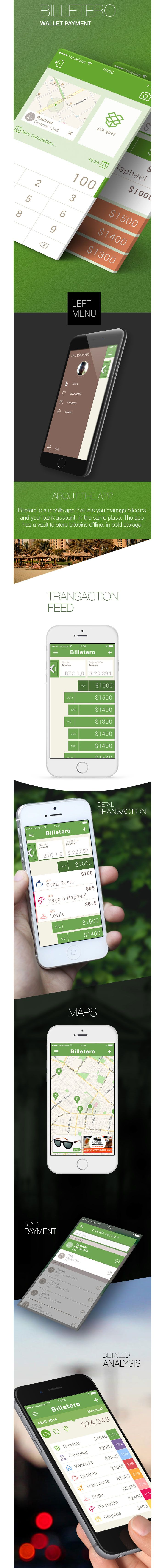 Billetero App - Wallet Payments iPhone 6