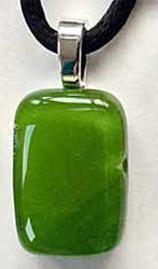 Bits of Bling pendant www.shardsglass.com https://www.facebook.com/ShardsGlassStudio/